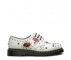 לצפייה במוצר DR MARTENS 1461 ROCK & ROLL WHITE