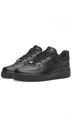 לצפייה במוצר  AIR FORCE 1 BLACK/BLACK WOMEN SIZES