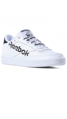 לצפייה במוצר REEBOK CLUB C 85 WHITE/BLACK