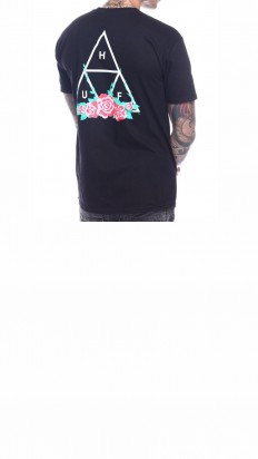 לצפייה במוצר HUF CITY ROSE TT TEE BLACK