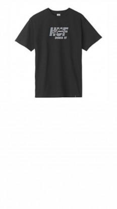 לצפייה במוצר HUF PUSHER SS TEE BLACK