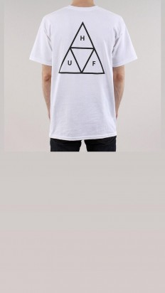 לצפייה במוצר HUF ESSENTIALS TT TEE WHITE
