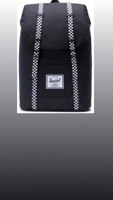 לצפייה במוצר HERSCHEL RETREAT BLACK/CHECKERBOARD