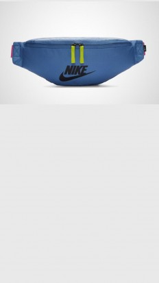 לצפייה במוצר NIKE HERITAGE BELT BAG BLUE/PINK