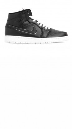 לצפייה במוצר AIR JORDAN 1 MID SE BLK/WHITE