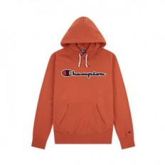 לצפייה במוצר CHAMPION HOODED SWEATSHIRT BROWN