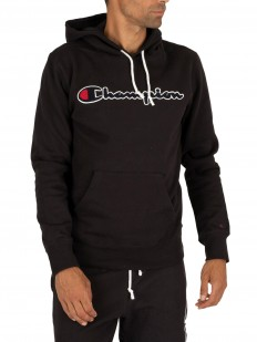 לצפייה במוצר CHAMPION HOODED SWEATSHIRT BLACK