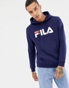לצפייה במוצר FILA HOODED SWEATSHIRT NAVY