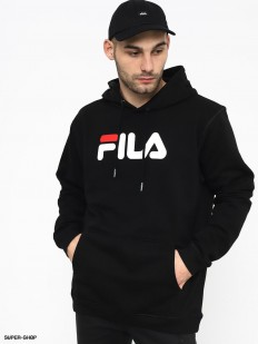 לצפייה במוצר FILA HOODED SWEATSHIRT BLACK