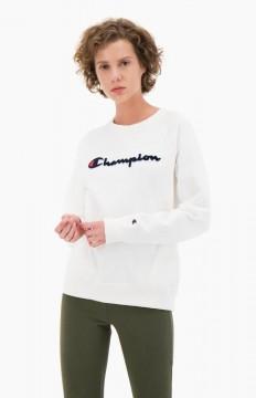 לצפייה במוצר CHAMPION CREEWNECK SWEATSHIRT WHITE