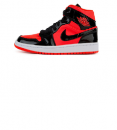 לצפייה במוצר AIR JORDAN 1 MID BRIGHT CRIMSON