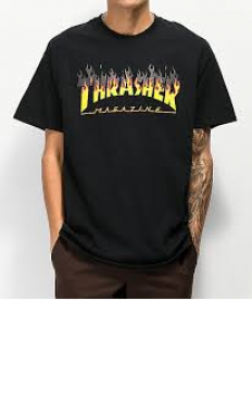 לצפייה במוצר THRASHER BBQ flame t-shirt