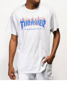 לצפייה במוצר THRASHER patriot flame t-shirt