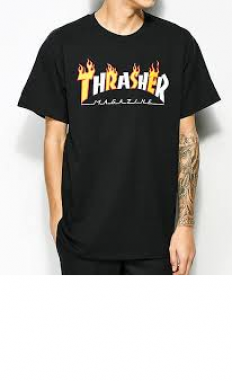 לצפייה במוצר THRASHER mag flame t-shirt