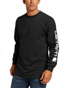 לצפייה במוצר CARHARTT LONG SLEEVE BLACK