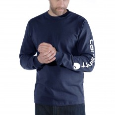 לצפייה במוצר CARHARTT LONG SLEEVE NAVY