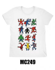 לצפייה במוצר Multi superheroes T-shirt