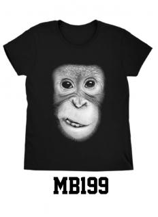 לצפייה במוצר The chimp T-shirt