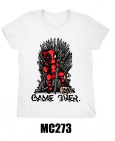 לצפייה במוצר GAME OVER T-shirt