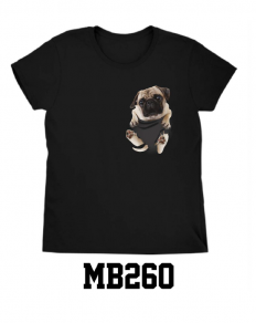 לצפייה במוצר The PUG T-shirt