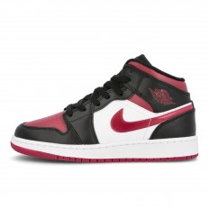 לצפייה במוצר AIR JORDAN 1 MID WHITE- MAROON