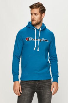 לצפייה במוצר CHAMPION HOODED SWEATSHIRT BLUE
