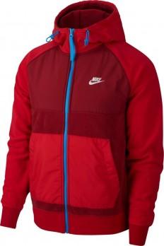 לצפייה במוצר Nike NSW Fleese Hoodie in Red