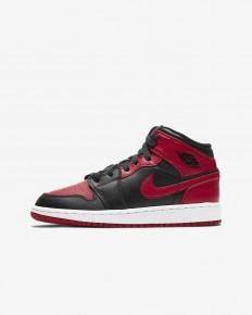 לצפייה במוצר  Nike Air Jordan 1 Mid Black Red