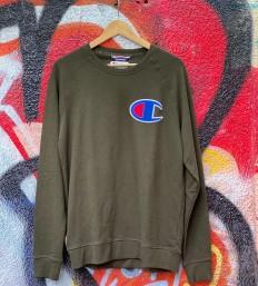 לצפייה במוצר Champion Sweatshirt - Olive Green