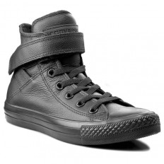 לצפייה במוצר Converse Chuck Taylor All Star LEATHER Hi BLACK
