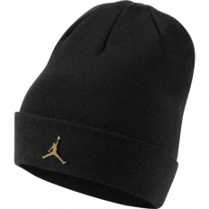 לצפייה במוצר  Jordan Metal Beanie Black Gold‏