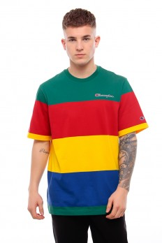 לצפייה במוצר   CHAMPION Colur Bloc Stripe T-shirt‏