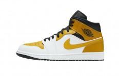 לצפייה במוצר  Air Jordan 1 Mid University Gold