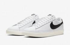 לצפייה במוצר  Nike Blazer Leather Low White Black 