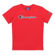 לצפייה במוצר  CHAMPION CLASSIC LOGO RED T-SHIRT