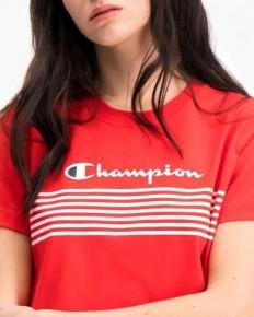 לצפייה במוצר Champion Logo Stripe Short-Sleeve T-Shirt