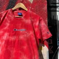 לצפייה במוצר Champion T-shirt RED stone washed
