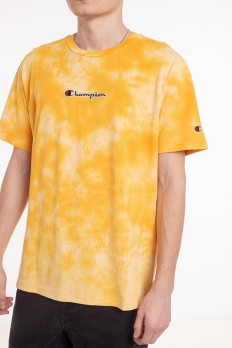לצפייה במוצר  orange Champion Logo Small T-shirt