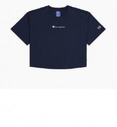 לצפייה במוצר CHAMPION T-SHIRT crop top dark blu