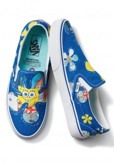 לצפייה במוצר Vans x Spongebob - Classic Slip On Aloha Bob - Slip Ons