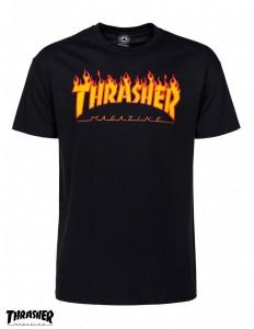 לצפייה במוצר THRASHER classic flames t-shirt