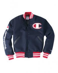 לצפייה במוצר champion blue jacket